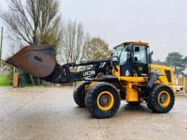 JCB 426EHT WASTEMASTER LOADING SHOVEL *YEAR 2011* C/W BUCKET