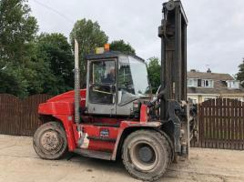 KALMAR DCE 90-600 FORK LIFT ( YEAR 2004 ) *ONLY 3079 HOURS * ( PLEASE SEE VIDEO )
