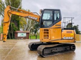 CASE CX130B HIGH RISED CABIN TRACKED WASTE HANDLER * YEAR 2008 * C/W REVERSE CAMERA