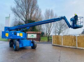 GENIE S/65 4WD CHERRY PICKER * WORKING HEIGHT 21.8 METER REACH *