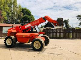 MANITOU MLT626T TURBO TELEHANDLER C/W PICK UP HITCH