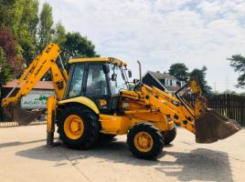 JCB 3CX PROJECT 8 BACK HOE DIGGER C/W EXTENDING DIG *PLEASE SEE VIDEO*