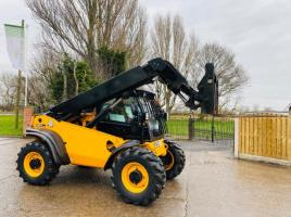 JCB 524-50 4WD TELEHANDLER *YEAR 2014 ,ONLY 2453 HOURS * ONE OWNER FROM NEW
