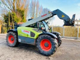 CLAAS SCORPION 6030CP TURBO TELEHANDLER *YEAR 2011* AG- SPEC C/W PICK UP HITCH