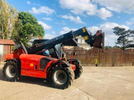 MASSEY FERGUSON T2556 TURBO TELEHANDER C/W PICK UP HITCH