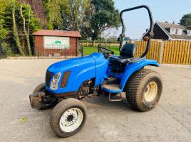 NEW HOLLAND TG27D 4WD TRACTOR * YEAR 2007 ONLY 2031 HOURS * C/W ROLE BAR