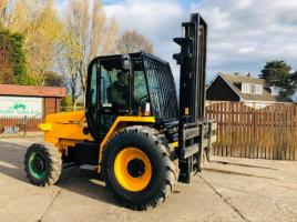 JCB 926 4WD MASTED FORKLIFT * YEAR 2017 ONLY 815 HOURS * PLEASE SEE VIDEO *