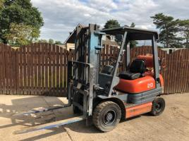 TOYOTA 20 CONTAINER SPECIFICATION FORK LIFT