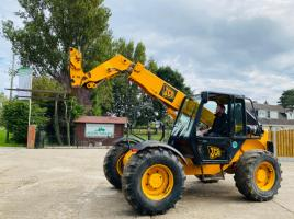 JCB 528S TELLEHANDLER * ONLY 5011 HOURS * C/W PICK UP HITCH * SEE VIDEO *