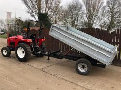 ** BRAND NEW SIROMER 2.5 TONE GALVANISED TIPPING TRAILER ** ( PLEASE SEE VIDEO )