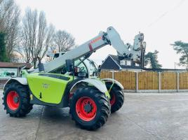 CLAAS K50 TARGO TELEHANDLER * AG-SPEC , ONLY 4324 HOURS * C/W PUH * VIDEO *