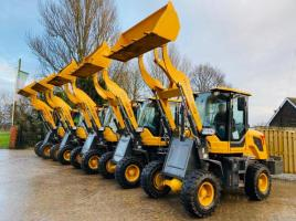 BRAND NEW UNUSED HYLOAD 3050 4WD LOADING SHOVEL * YEAR 2020 * CHOICE OF 5