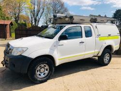 TOYOTA HILUX HL2 4WD PICK UP *YEAR 2010 IN TEST* C/W WORKSHOP RACKING & WINCH