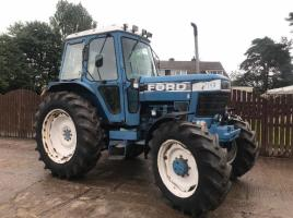 FORD 7710 4WD TRACTOR