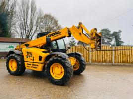 JCB 530 - 70 SUPER , TURBO TELEHANDLER * AG-SPEC * C/W PICK UP HITCH