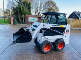 BOBCAT S70 SKIDSTEER * YEAR 2013 * ONLY 3241 HOURS *