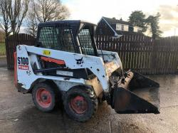 BOBCAT S100 SKIDSTEER ( YEAR 2013 ) * ONLY 834 HOURS *
