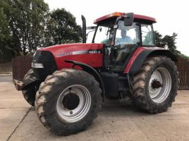 CASE MXM175 4WD TRACTOR C/W FRONT SUSPENSION * ONLY 6163 HOURS *