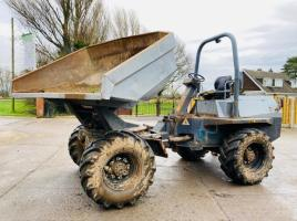 TEREX 6 TON SWIVEL TIP DUMPER * YEAR 2008 *