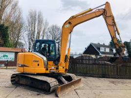 CASE CX80 TRACKED EXCAVATOR * YEAR 2007 * PLEASE SEE VIDEO *