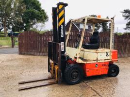 KALMAR CQ2.0 DIESEL FORKLIFT C/W SIDE SHIFT * SPARES OR REPAIRS *