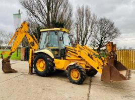 JCB 3CX PROJECT 8 SITEMASTER BACK HOE DIGGER C/W REAR QUICK HITCH