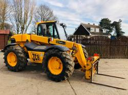 JCB 526S FARM SPECIAL TELEHANDLER C/W PICK UP HITCH * PLEASE SEE VIDEO *