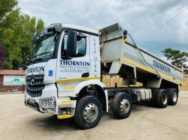 MERCEDES ACTROS 3240 8X4 STEEL BODY TIPPER LORRY * YEAR 2014 * PLEASE SEE VIDEO *