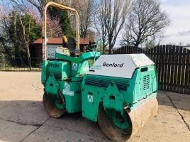 BENFORD TVM1200 DOUBLE DRUM ROLLER