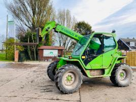 MERLO P28.7KT TURBO TELEHANDLER * AG SPEC 7 METER REACH * C/W PICK UP HITCH