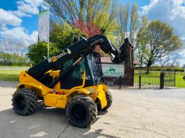 JCB 520-50 4WD TELEHANDLER * AG-SPEC * C/W PICK UP HITCH