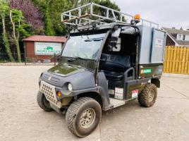 AUSA M50D 4WD DIESEL UTILITY VEHICLE * YEAR 2012 * ONLY 463 HOURS