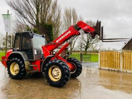MANITOU MLA628 MANISCOPIC TELEHANDLER *AG-SPEC* C/W PICK UP HITCH