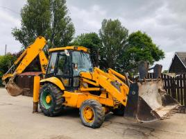 JCB 3CX PROJECT 8 BACKHOE DIGGER C/W EXTENDING DIG