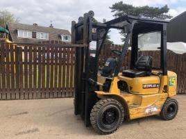 CATERPILLAR DP20K CONTAINER SPEC FORK LIFT ( PLEASE SEE VIDEO )