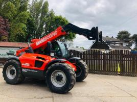 MANITOU ML634-120LSU TURO TELEHANDLER * YEAR 2008 * C/W PICK UP HITCH *SEE VIDEO*