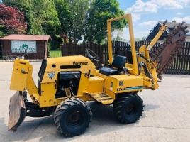 VERMEER RT450 4WD TRENCHER ONLY 346 HOURS C/W 3 WAY BLADE