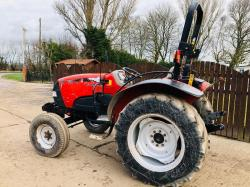 CASE FARMALL 55 TRACTOR * ROAD REGISTERED YEAR 2015