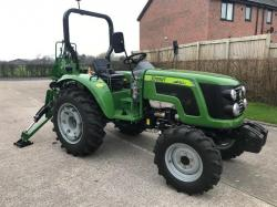 ** BRAND NEW SIROMER 404 4WD TRACTOR WITH REAR BACK ACTOR YEAR 2020 **