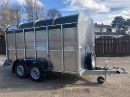 UNUSED GRAHAM EDWARDS TWIN AXLE CATTLE TRAILER ( YEAR 2019 )