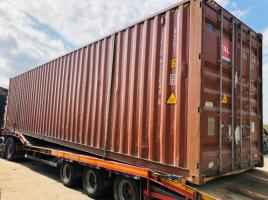 40FT HIGH CUBE SHIPPING CONTAINER * YEAR 2012 * WIND & WATER TIGHT