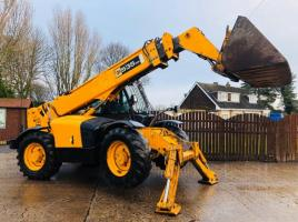 JCB 535-125 TELEHANDLER *YEAR 2006* C/W BUCKET AND TINES