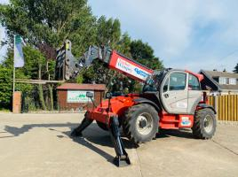 MANITOU MT1440 TURBO TELEHANDLER * YEAR 2015 * C/W REVERSE CAMERA