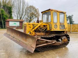 CATERPILLAR D4D DOZER C/W FRONT BLADE & REAR LINKAGE
