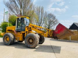 JCB 436 4WD LOADING SHOVEL C/W SUTTON TOE-TIP BUCKET