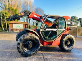 MANITOU MLT634-120LSU TURBO TELEHANDLER * YEAR 2006 * NO HEAD STOCK *