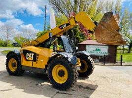 CATERPILLAR TH407 4WD TELEHANDLER *YEAR 2012 C/W BUCKET