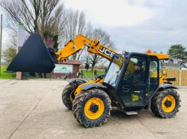 JCB 527-58 AGRI TELEHANDLER * YEAR 2011 * C/W PICK UP HITCH