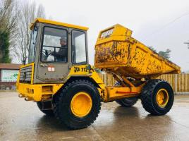 JCB 712 4WD ARTICULATED DUMP TRUCK C/W REVERSE CAMERA