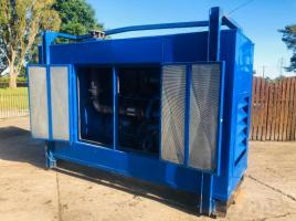 MAN TURBO 180 KVA GENERATOR READING 388 HOURS